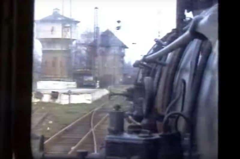 Jaworzyna Śląska stacja manewry parowozem
