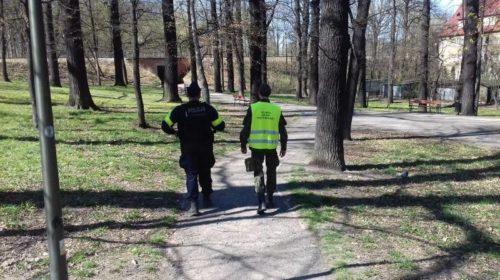 patrole świdnickiej policji i wot