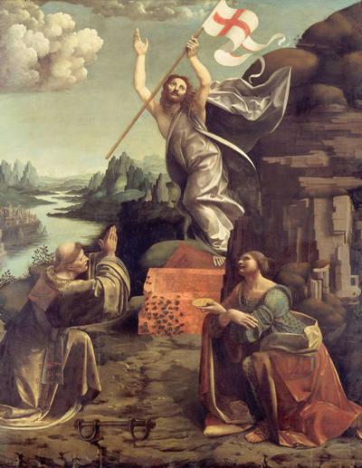 Giovanni Antonio Boltraffio, Marco d'Oggiono Zmartwychwstanie