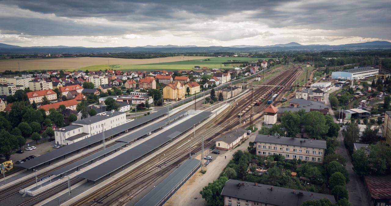 Jaworzyna Śląska zdjęcia z drona