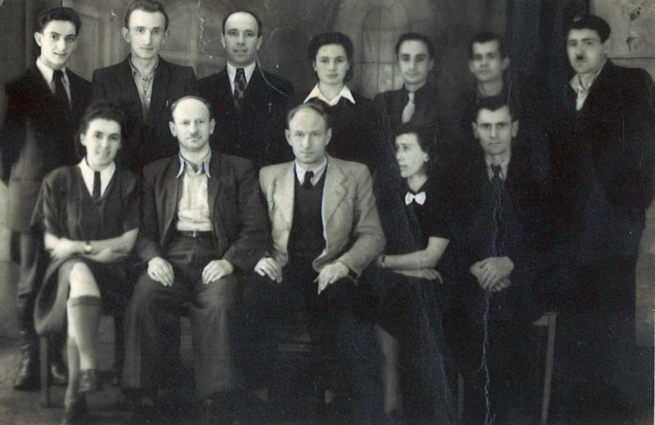 Pracownicy administracji Jaworzyna Ślaska 1947