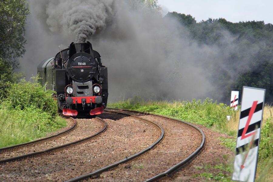 Muzeum Jaworzyna Śląska lokomotywa parowóz