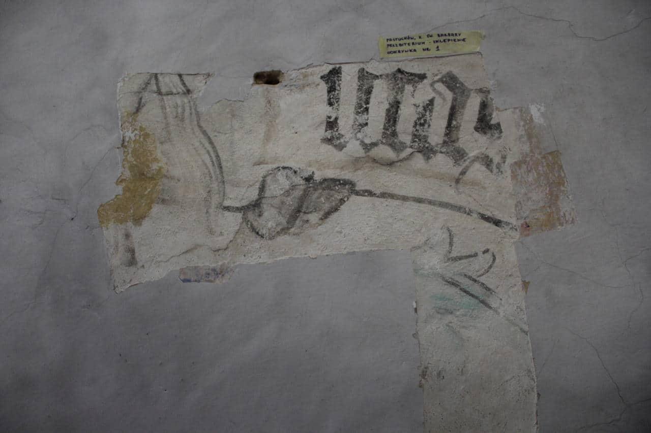 Kościół w Pastuchowie malowidła