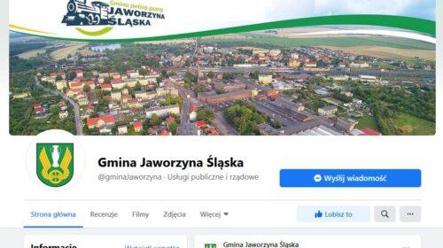 Gmina Jaworzyna Śląska profil Facebook