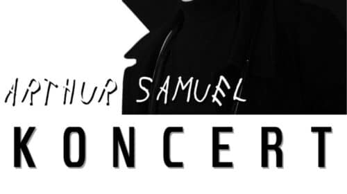 Plakat koncert Arthur Samuel Jaworzyna Śląska
