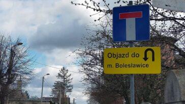 Objazd Bolesławice Jaworzyna Śląska