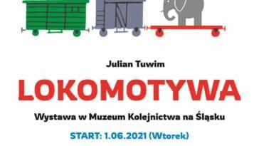 Plakat Lokomotywa w Muzeum w Jaworzynie Śląskiej