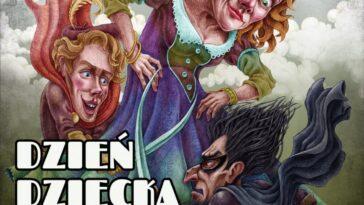 Plakat spektakl Mama Bohatera w Jaworzynie Śląskiej z okazji Dnia Dziecka