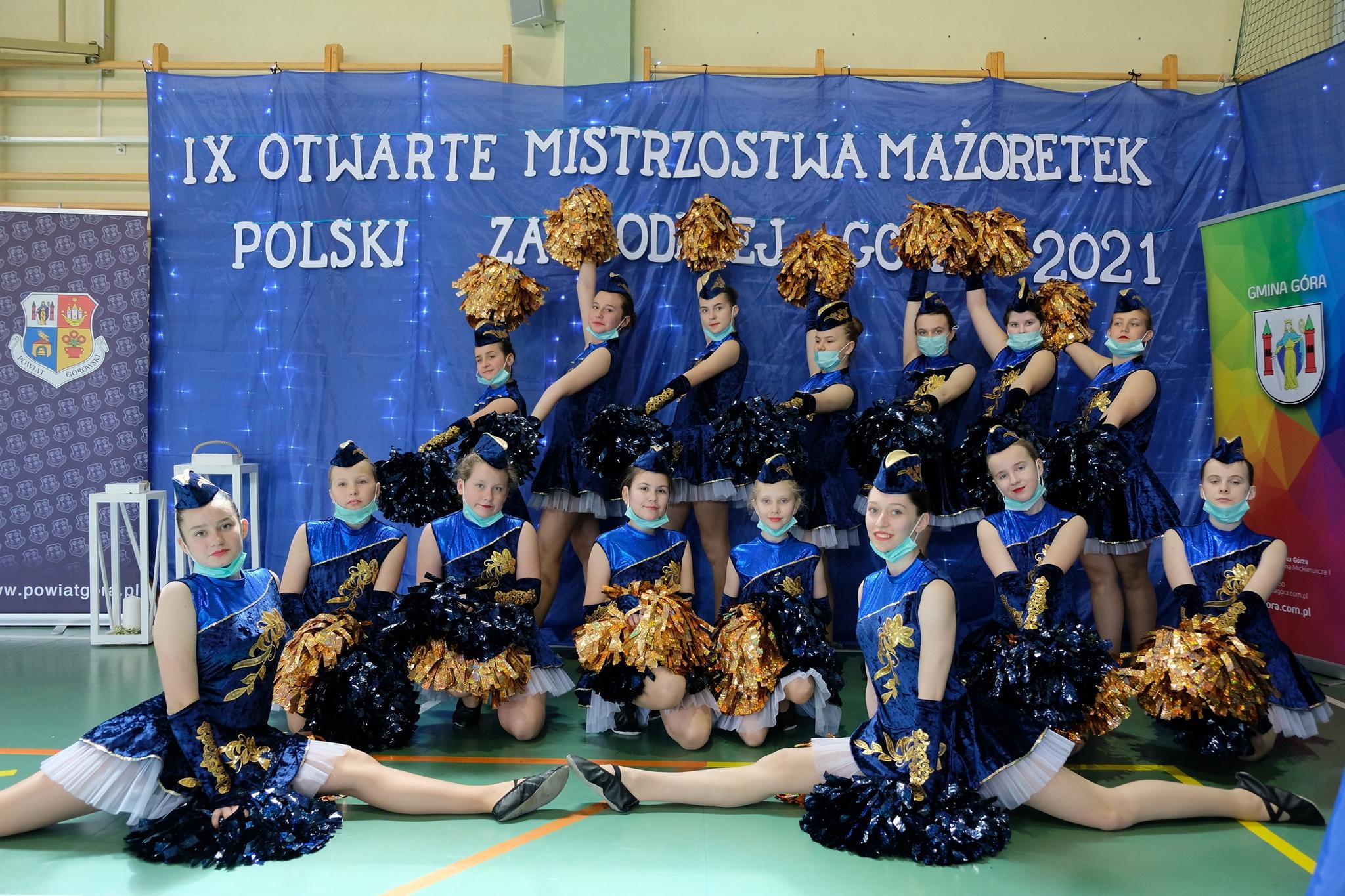 Mażoretki Fart Jaworzyna Śląska na Mistrzostwach Polski