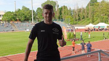 Mateusz Jopek zawody lekkoatletyczne Węgry