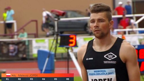 Mateusz Jopek skok w dal zawody w Pradze