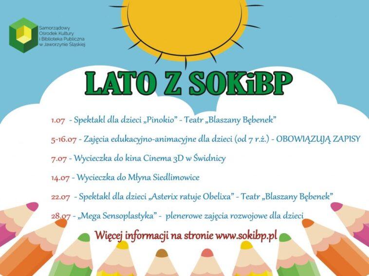 Lato z SOKiBP wakacje w Jaworzynie Śląskiej